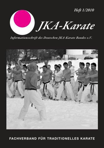 Heft 1/2010 - Deutscher JKA-Karate-Bund e.V.