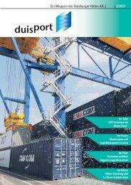 Ein Magazin der Duisburger Hafen AG 2/2008 - Duisport