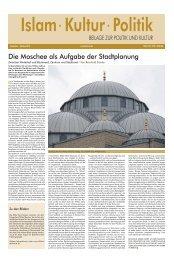 Islam · Kultur · Politik - Deutscher Kulturrat