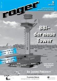 BBI– der neue Tower - Roger - Luftfahrtnachrichten für Berlin und ...