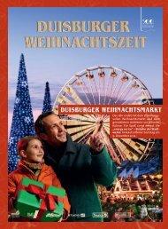 Weihnachts- Shopping in Duisburg - Duisburger Weihnachtsmarkt