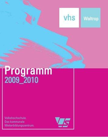 Aktuelles Forum - Volkshochschule Waltrop