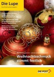Die Lupe 04/2008 - Ausgabe Oktober 2008Link