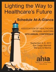 Lighting the Way to Healthcare's Future