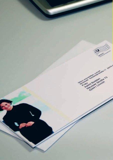 Automationsfähige Briefsendungen - Deutsche Post