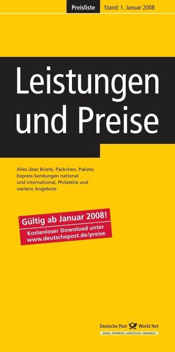 Leistungen und Preise - Freie Universität Berlin