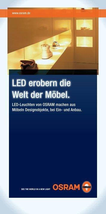 LED erobern die Welt der Möbel - Osram