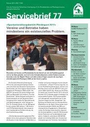Servicebrief Nr 77.pdf - Reit-und Fahrverein Straubing-Oberpiebing