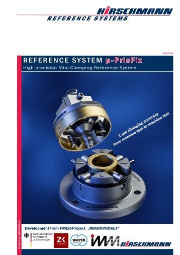 REFERENCE SYSTEM µ-PrisFix - Hirschmann GmbH