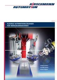 flexible automationslösungen für werkzeugmaschinen - Hirschmann ...