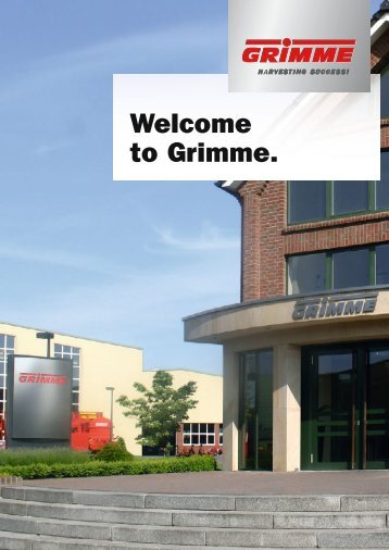 Welcome to Grimme.