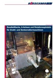 A-Achsen/Rundteiltische - Hirschmann GmbH