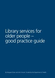 Library services for older people – good practice guide - The Network