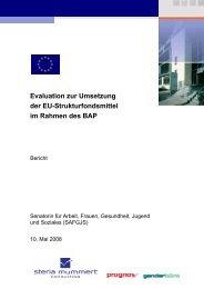 Evaluation zur Umsetzung der EU-Strukturfondsmittel im Rahmen ...
