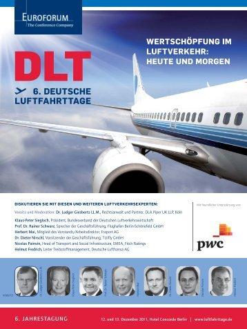 6. DEUTSCHE LUFTFAHRTTAGE - Euroforum