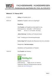 13.02.. bis 15.02.2013 - Josef Dolder AG