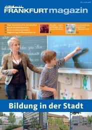Bildung in der Stadt - CDU-Kreisverband Frankfurt am Main