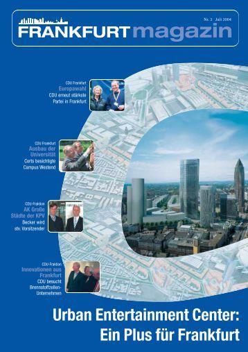 Nr. 3 Juli 2004 - CDU-Kreisverband Frankfurt am Main