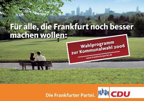 bildung - CDU-Kreisverband Frankfurt am Main