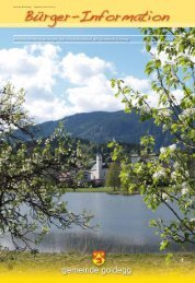 Bürgerinfo - Gemeinde Goldegg