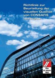 Richtlinien zur visuellen Beurteilung von Isolierglas - Schlatt