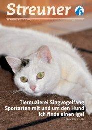 Tierquälerei Singvogelfang Sportarten mit und um ... - Tierheim Linz