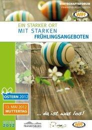 Oster-Ausgabe 2012 - Frankenburg.com