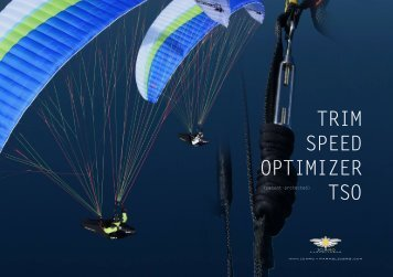 with the TSO - ICARO paragliders