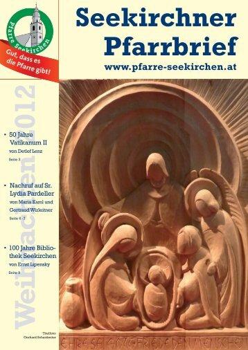 Seekirchner Pfarrbrief - Pfarre Seekirchen