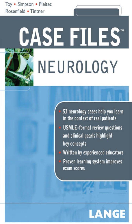 neurology case studies View homework help - sc235_focus on case studies in neurology_unit 6 from mt 460 at kaplan university running head: focus on case studies in neurology focus on case studies in neurology kaplan.