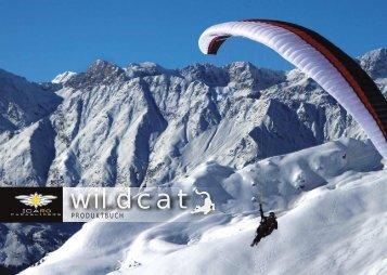 Modellpalette - ICARO paragliders
