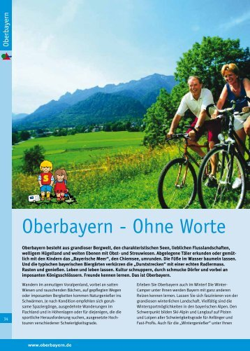 Oberbayern - Ohne Worte - Camping in Bayern