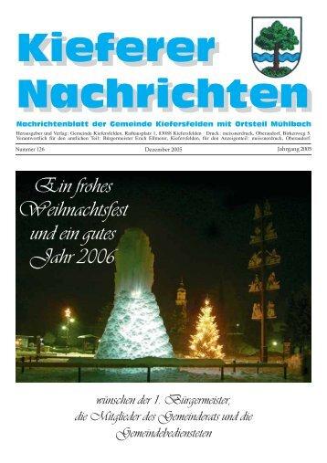Fröhliche Weihnachten, Mr. Scrooge! - Kiefersfelden