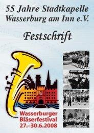 Harmoniemusik - Stadtkapelle Wasserburg