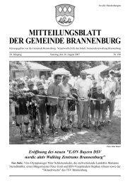 beiträge der bürgerinnen und bürger von der ersten ... - Brannenburg