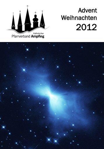 Pfarrbrief Advent/Weihnachten 2012 - Katholischer Pfarrverband ...