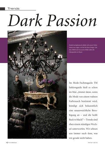 Dark Passion - TRENDagentur Gabriela Kaiser