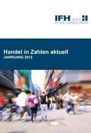 Inhaltsverzeichnis Handel in Zahlen aktuell 2012