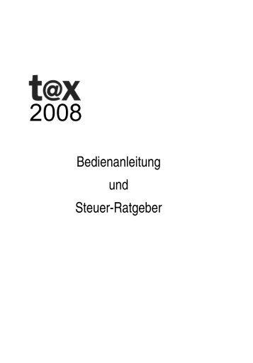 Bedienanleitung und Steuer-Ratgeber - Buhl Replication Service ...