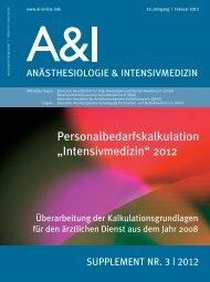 Supplement Nr. 3 / 2012 - DGAI