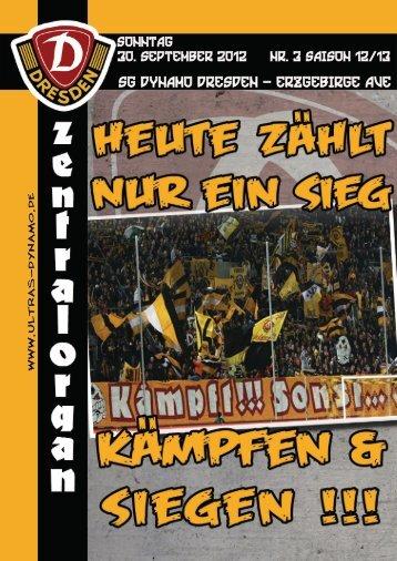 SG Dynamo Dresden - Erzgebirge Aue - Ultras Dynamo