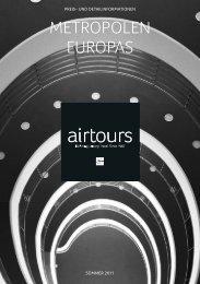 AIRTOURS - Preisteil - Sommer 2011 - TUI.at