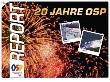 20 JAHRE OSP - OSP Bayern