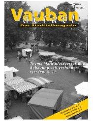Ausgabe 3/2003 - Vauban