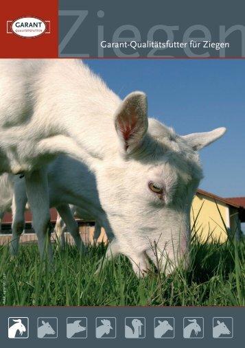 Garant-Qualitätsfutter für Ziegen - Lagerhaus