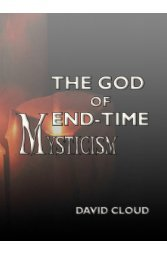 The God of End-Time Mysticism - Way of Life Literature