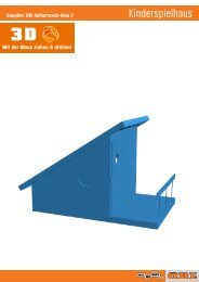 Bauplan: OBI Selbermach-Idee 3