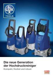 Die neue Generation der Hochdruckreiniger - Obi