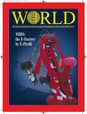 MIRS: the E-Factory by E-Pirelli