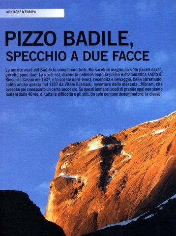 Vertical n.5 aprile-maggio 2007 Pizzo Badile - Mario Sertori
